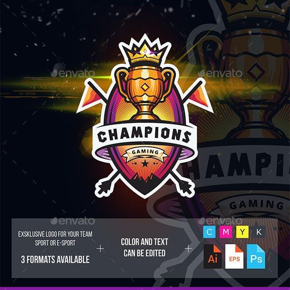 Champions Esport Logo Tournament
