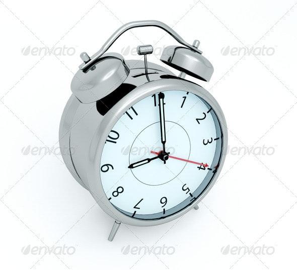 Alarm clock - Objects 3D Renders