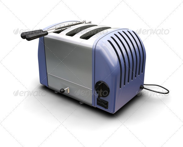Toaster - Objects 3D Renders