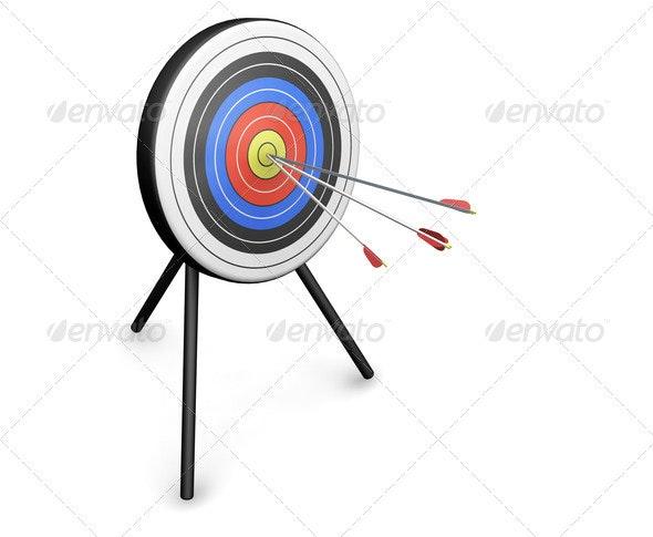 Bullseye - Objects 3D Renders