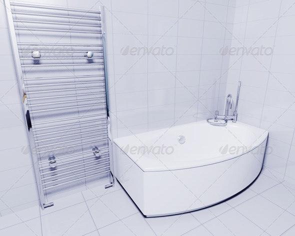 Bathroom interior - Architecture 3D Renders