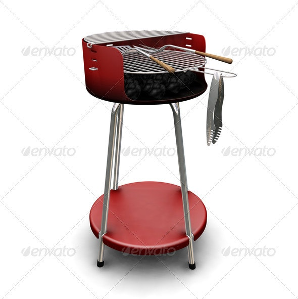 Barbecue - Objects 3D Renders