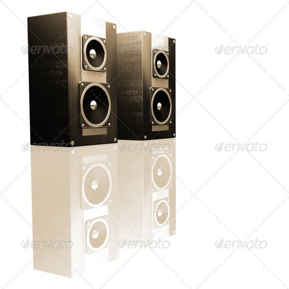 Speakers - Technology 3D Renders