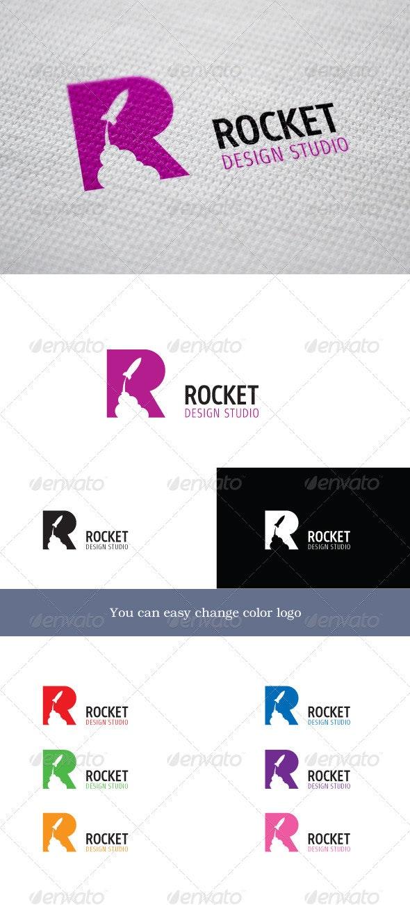 Rocket Design Studio - Letters Logo Templates