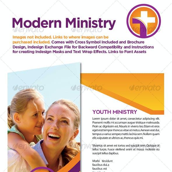 Modern Ministry Tri-fold Brochure