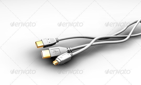 Cables - Technology 3D Renders