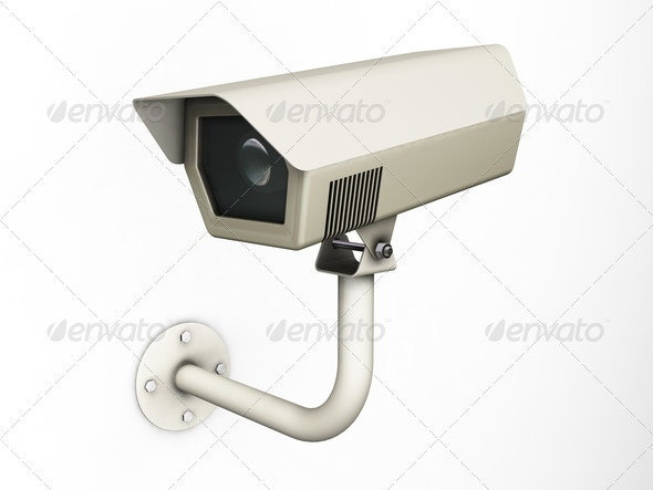 Security camera - Objects 3D Renders