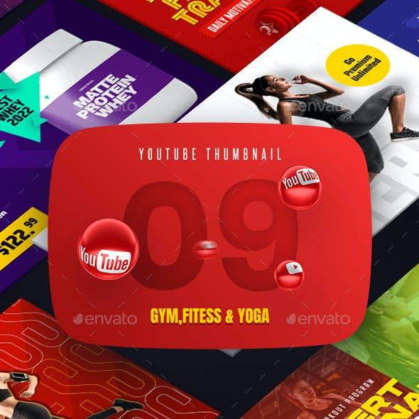 Sport Fitness & Yoga YouTube Video Thumbnail