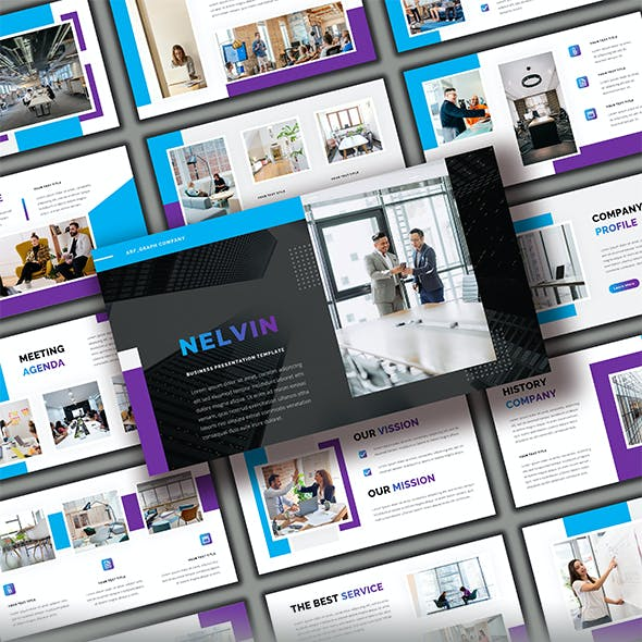 Nelvin - Business Powerpoint Template