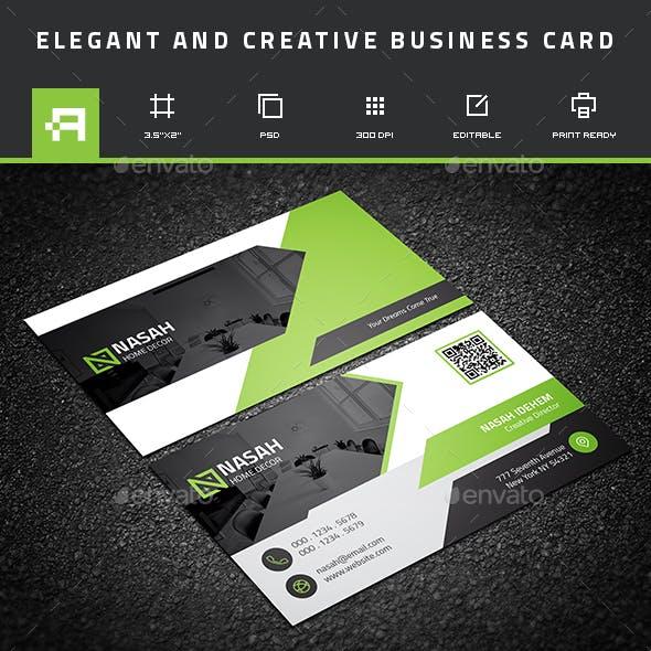 Elegant & Creative Business Card