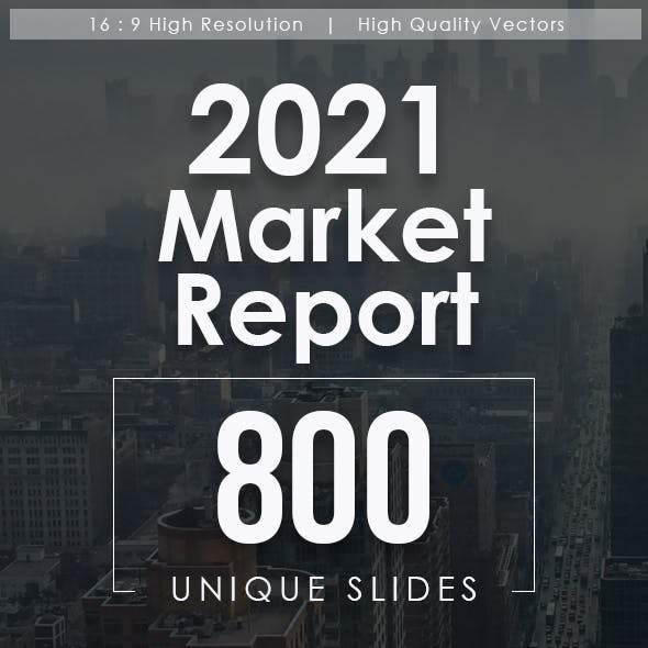 2021 Market Report Powerpoint Templates Bundle