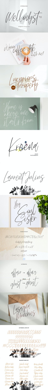 Mellodyst Signature Font - Calligraphy Script