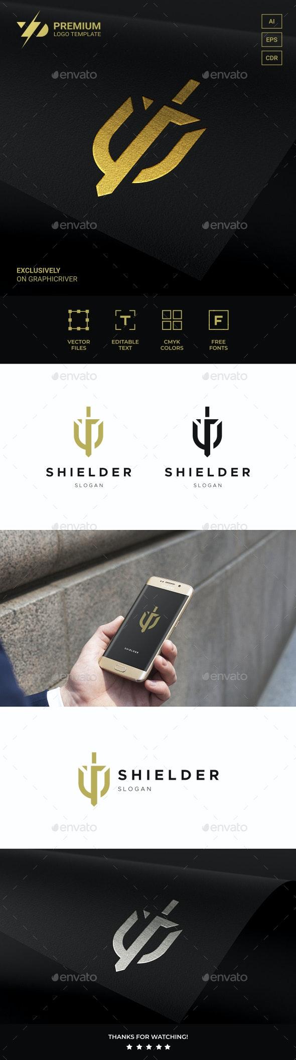 Sword Shield Logo - Symbols Logo Templates