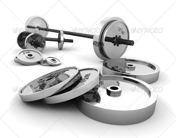 Weights - Objects 3D Renders
