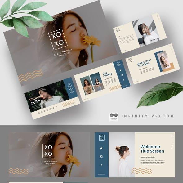 Xoxo Lookbook Powerpoint