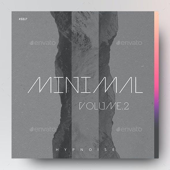 Minimal 2 – Music Album Cover Artwork / Video Thumbnail Template