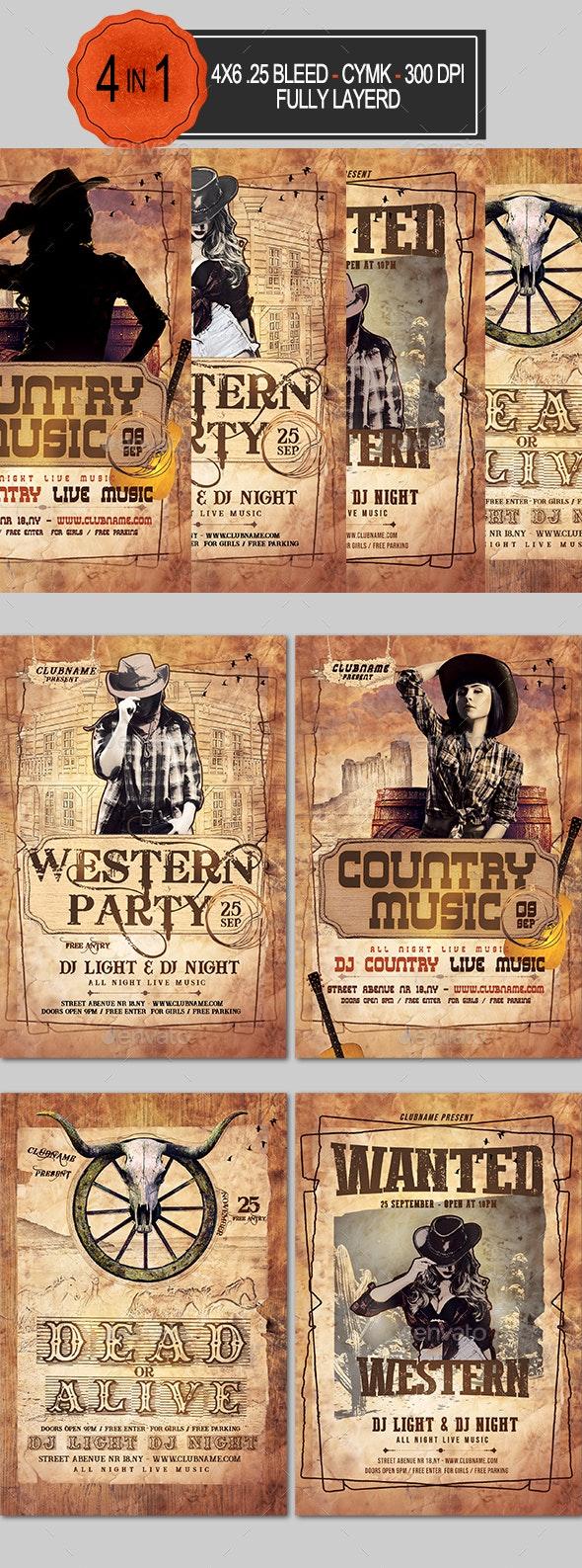 Western Flyer Bundle - Clubs & Parties Events