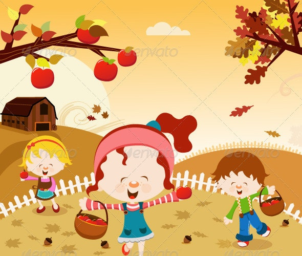 Happy Harvest - People Characters