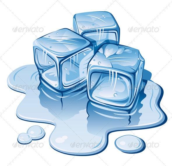 Ice Cubes - Miscellaneous Vectors