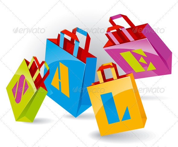 Paper Bags - Retail Commercial / Shopping