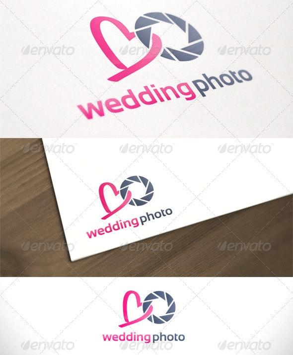 Wedding Photo Studio Photography Logo Template - Symbols Logo Templates