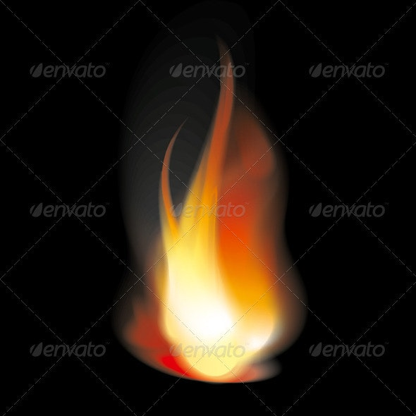 Flame Tongues - Backgrounds Decorative