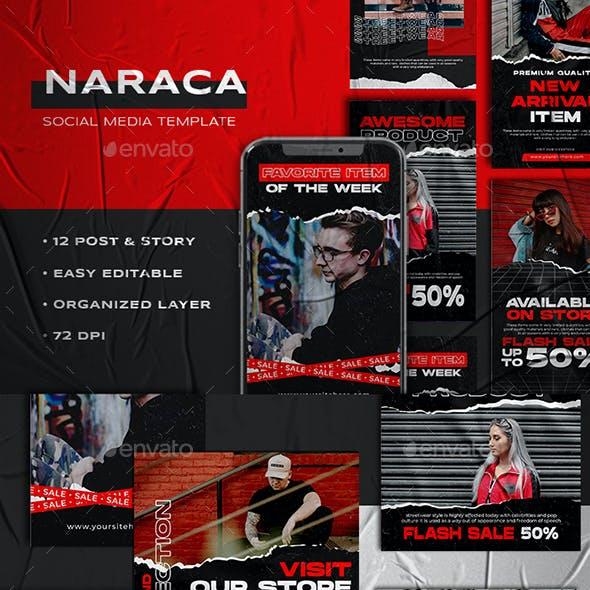 NARACA - Instagram Stories & Post Template