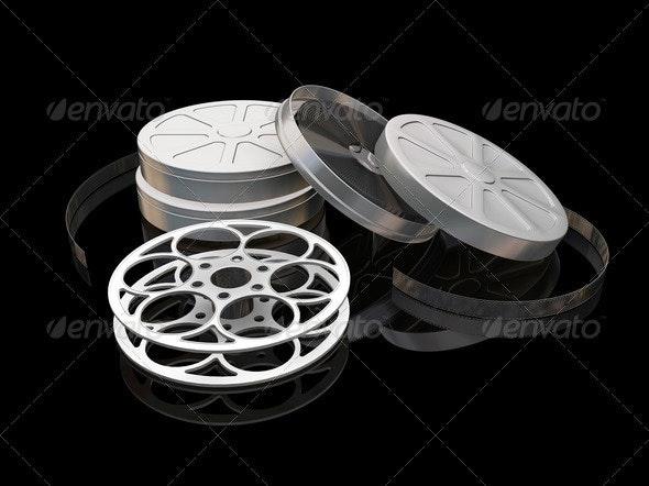 Film reels - Objects 3D Renders
