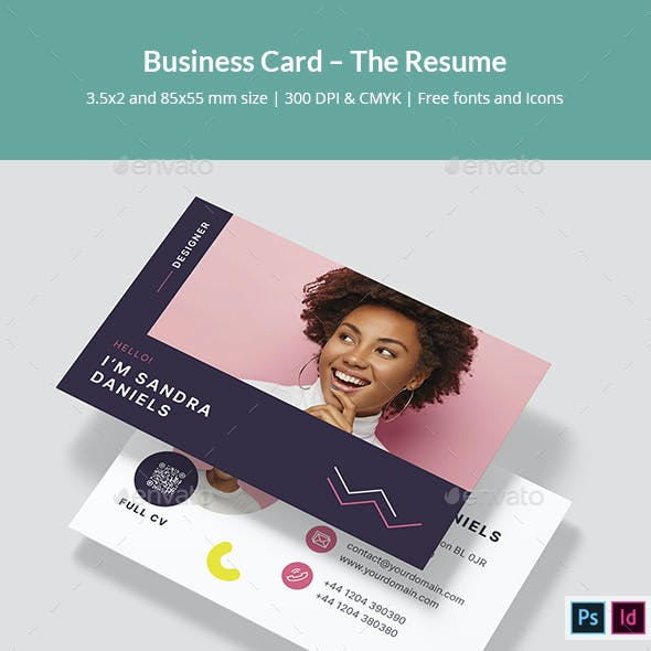 Business Card – The Resume
