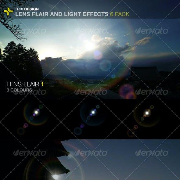 Lens Flares - 6 Pack