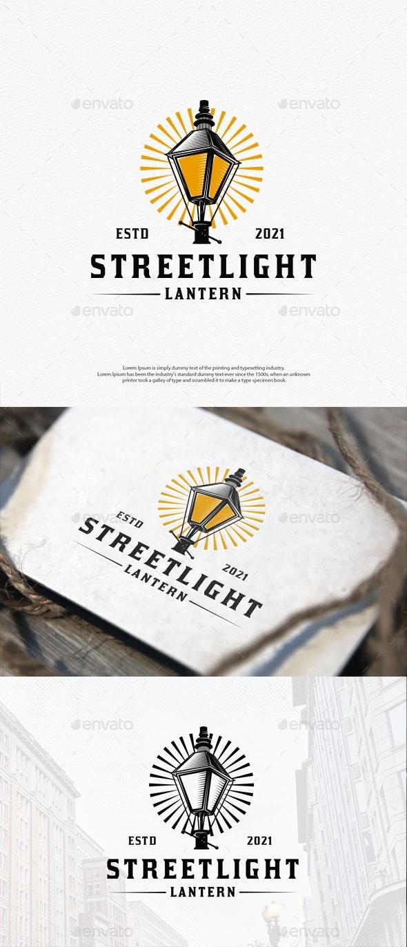 Streetlight Vector Logo Template - Objects Logo Templates