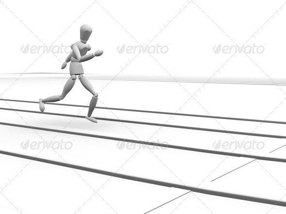 Runner - Characters 3D Renders