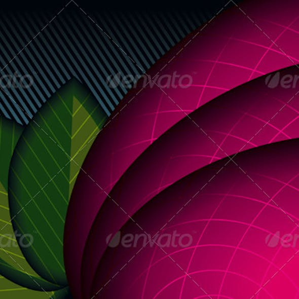 Abstract Background (Floral Theme)