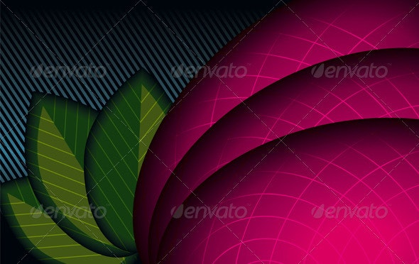 Abstract Background (Floral Theme) - Backgrounds Decorative