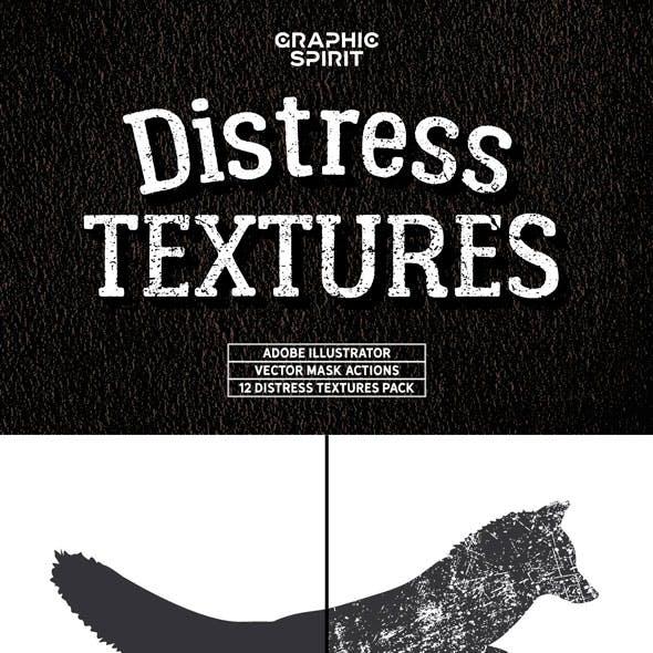 Distress Textures Vector Actions