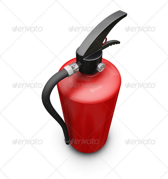 Fire extinguisher - Objects 3D Renders