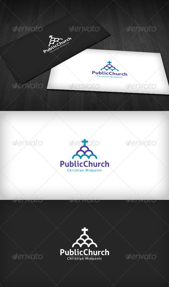 Public Church Logo - Symbols Logo Templates