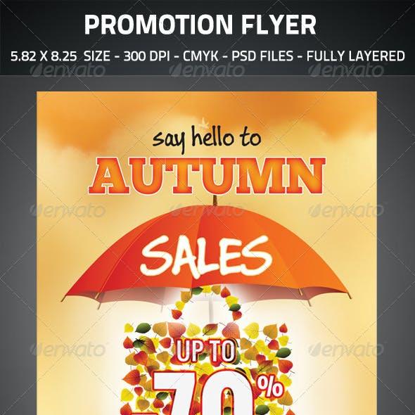 Promotional Sales Flyer