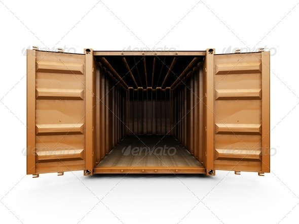 Freight container - Objects 3D Renders