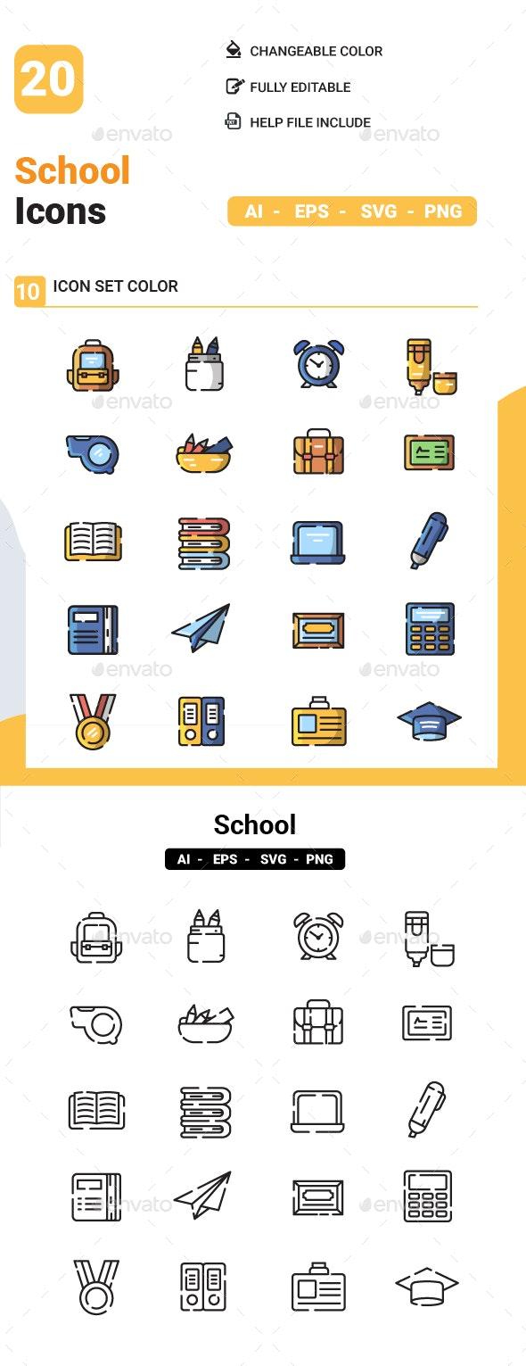 School Icon - Icons