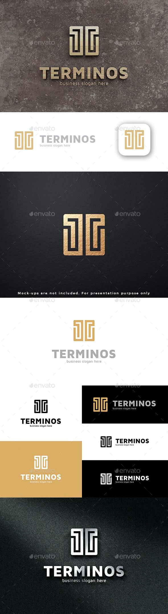 Letter T Logo - Terminos - Letters Logo Templates
