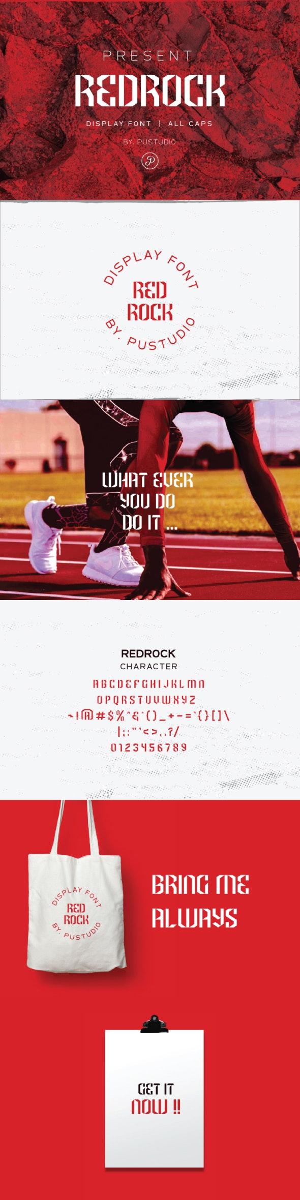 Redrock - Futuristic Decorative