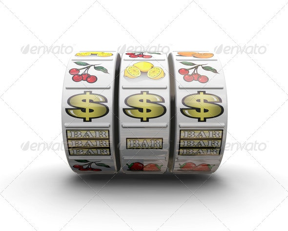Jackpot - Objects 3D Renders