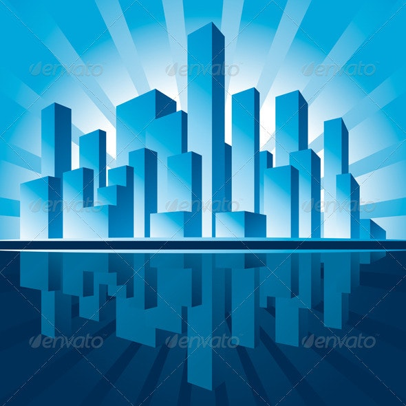 Skyscrapers - Backgrounds Decorative