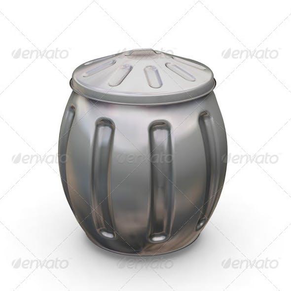 Full trash can