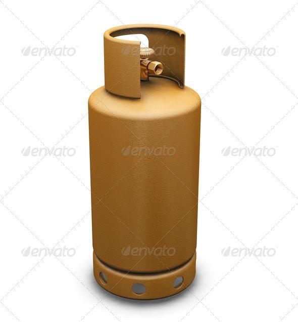 Propane gas - Objects 3D Renders