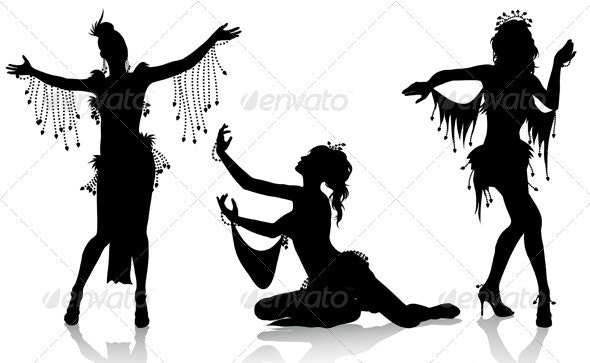 Belly Dancers  - People Characters