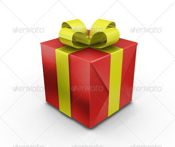 Gift - Objects 3D Renders