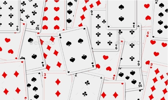 Playing Cards Background - Man-made Objects Objects