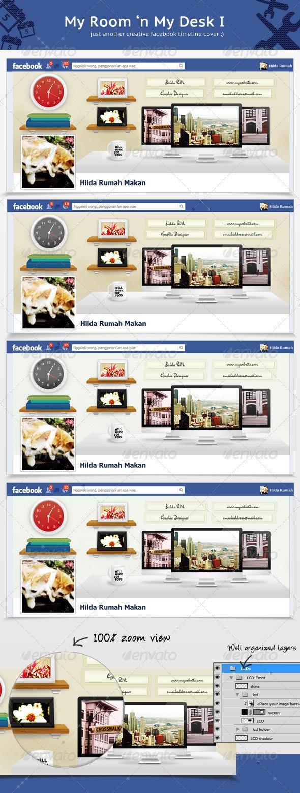 My Room 'n My Desk I - Facebook Timeline Covers Social Media